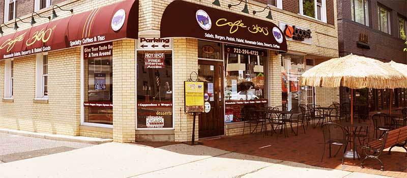 Cafe 360 Freehold NJ Exterior